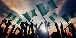 File photo: The Nigerian flag