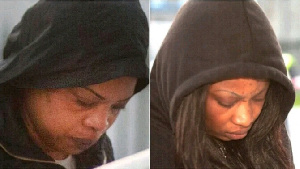 Two female suspects