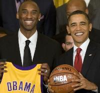 Kobe Bryant and Obama