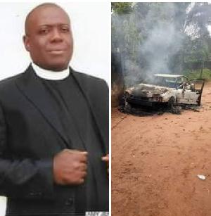 Rev. Emeka Merenu was serving under the Anglican Diocese of Orlu