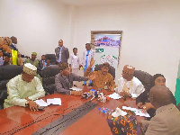 Ministers on tour to Abuja Int'l aiport