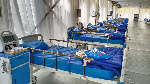 An isolation centre in Lagos. File photo