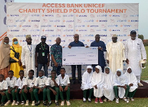 Winners of the prestigious Access Bank/UNICEF Charity Shield international polo tournament