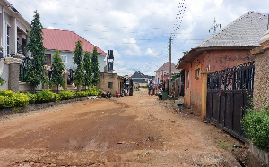Residential area in Abuja