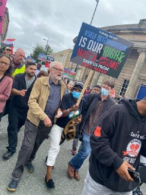 Yoruba Nation agitators protest in UK