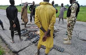 Boko Haram members surrender