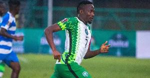 Super Eagles captain Ahmed Musa