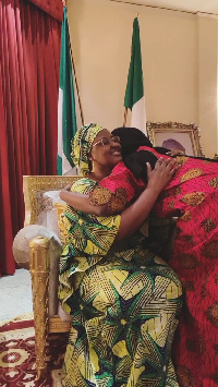 Mother and daughter reunion (Aisha and daughter)