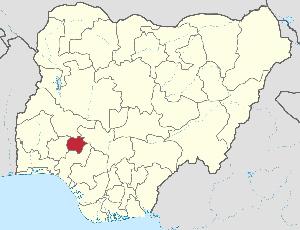 Ekiti State map