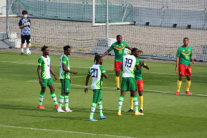 The Super Eagles played an uninspiring draw against Cameroon in Austria