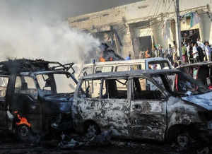 An attack in Somalia
