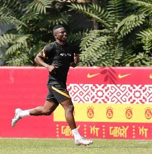 Oghenekaro Etebo currently plies his trade in Turkey for Galatasaray