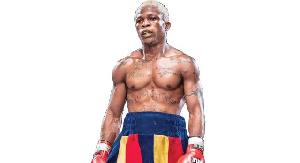 National boxing featherweight champion, Taiwo Agbaje
