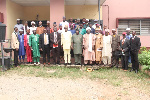 Dr. Adeniran with Reps of BESDA Centers in Ibadan