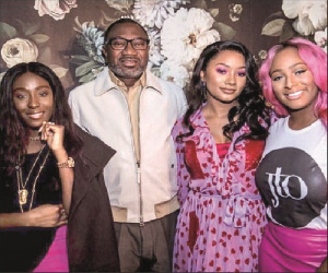 Billionaire Femi Otedola spends N200m on three Ferrari's for his daughters