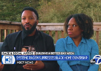Paul and Tenisha Tate Austin said they believe race played a part in their home being initially unde
