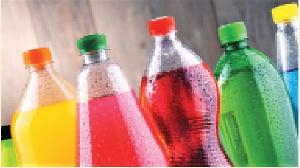 File photos of sugary drinks