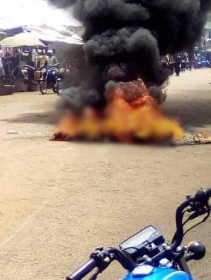 The incident happened at the popular Wurukum Market