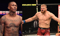 Israel Adesanya and Jan Blachowicz