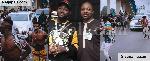 File photo: Musiliu Ayinde Akindanya with artiste, Davido