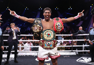 Two-time unified heavyweight champion, Anthony Joshua
