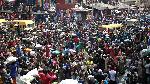 File photo: A market