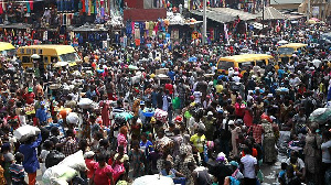 Oshodi market on a normal day