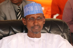 The Minister, Federal Capital Territory, Malam Muhammad Bello