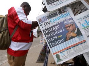 Buhari refused to respond to questions on the ban or if it will be lifted when asked in an interview