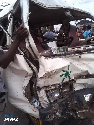 Nine people die in fatal accident