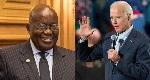 Joe Biden writes to Akufo-Addo, says he looks forward to the two of them working together