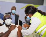 Governor Godwin Obaseki receives his second jab