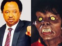 Shehu Sani and Michael Jackson from Thriller music video