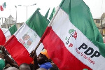 File photo: PDP flag