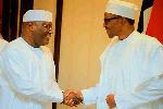 President Buhari contested the polls with former Vice-President, Atiku Abubakar