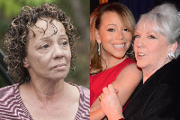 Alison (left), Mariah and Patricia Carey (pictured right) | Mirror