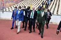 Amaju Pinnick, President of the Nigeria Football Federation