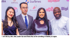 StarTimes' CEO, Alex Jian promised more investment in Nollywood