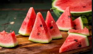 Water melons are good for men
