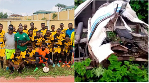 Some players of Easy Well Football Club were critically injured