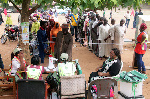 Large numbers of voters trooped out on Saturday to cast their votes