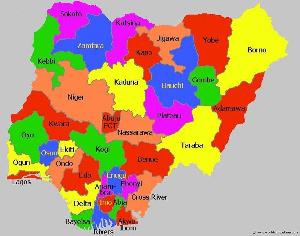 The Nigerian map