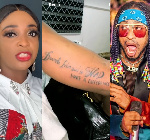 Blessing Okoro gets tattoo of Denrele Edun's name and quote on her arm