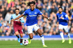 Alex Iwobi for Everton