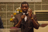 The Founder and General Overseer of the Redeemed Christian Church of God, Pastor Enoch Adeboye