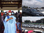 Anambra State governor, Chief Willie Obiano distributes over 100  SUV