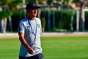 Super Eagles head coach Gernot Rohr