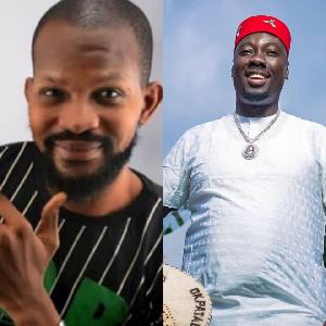 Uche Maduagwu and Obi Cubana