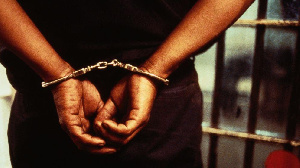 File photo: Man in handcuffs