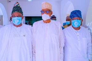 President Muhammadu Buhari,  Ibikunle Amosun